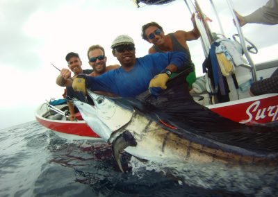Surfari Charters - a day of fishing.