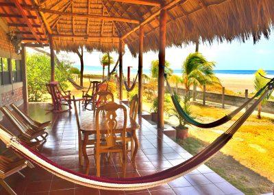 Beach side at Surfari Charters.