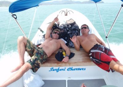 A full day of adventure at Surfari Charters.