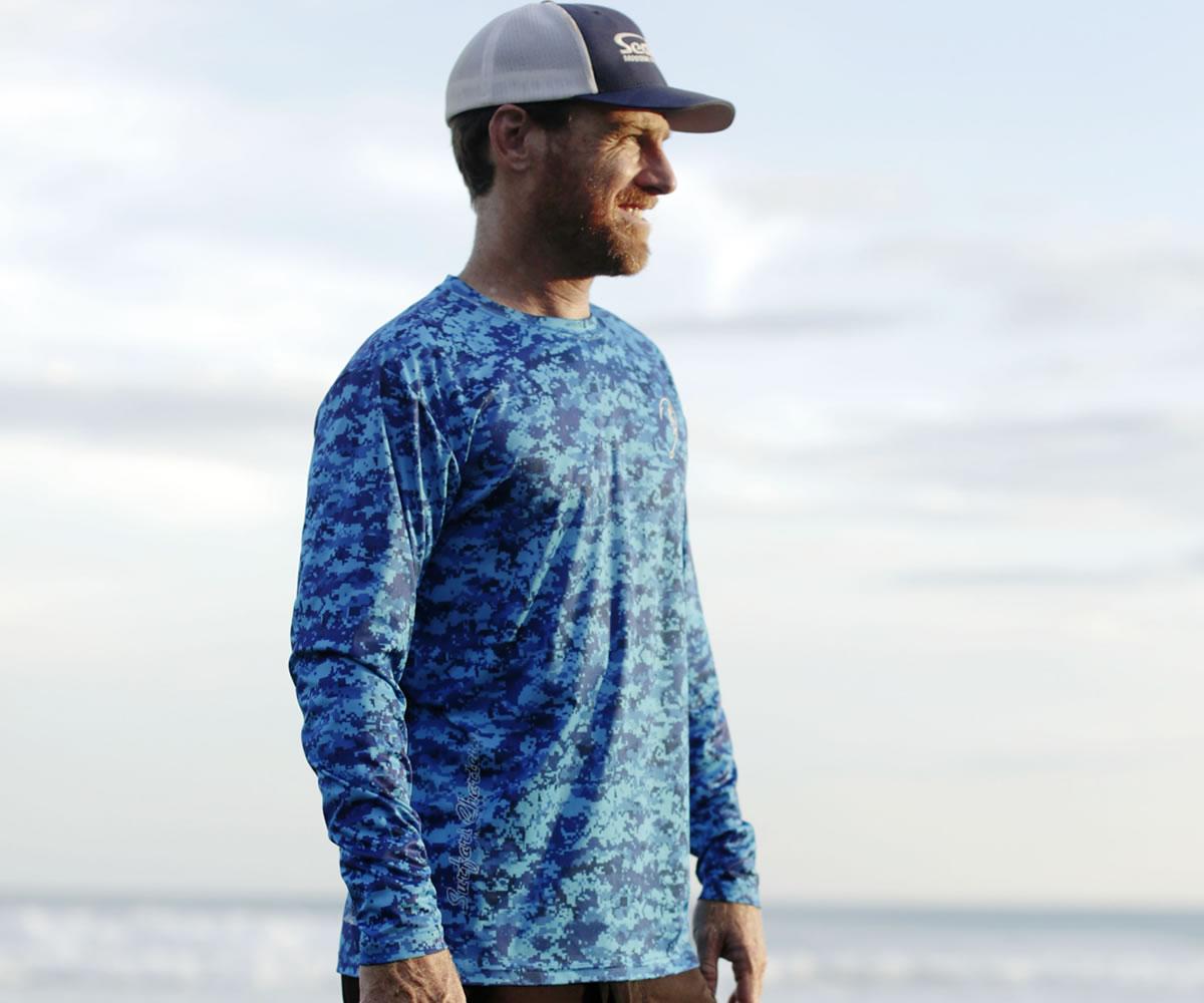 Men 39 S Spf Fishing Shirt Long Sleeve Surfari Charters