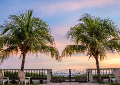Beachfront Vacation Rental water view.